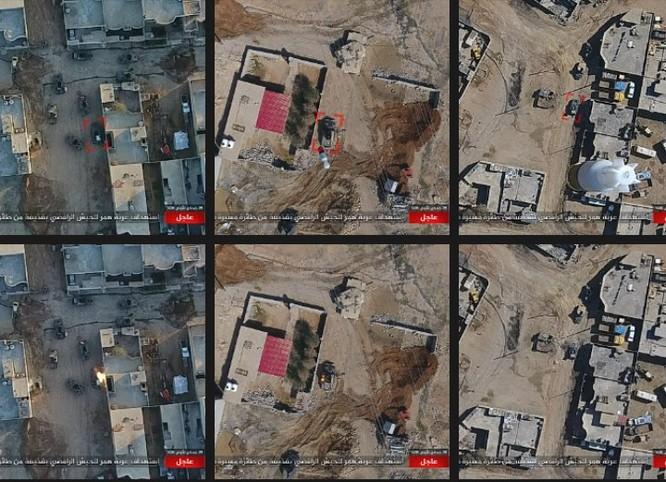 IS không kích bằng UAV, phá hủy xe thiết giáp Iraq ảnh 7