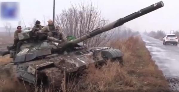 Chiến sự Ukraine: Giao tranh Donetsk bùng phát ác liệt, dân quân chiếm xe tăng T-64BM của Kiev ảnh 1