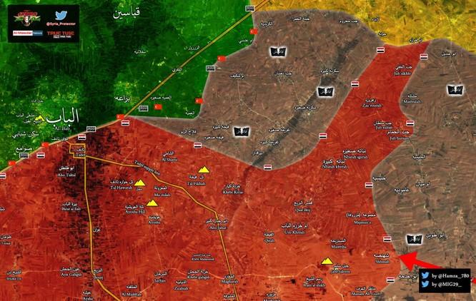 Quân đội Syria chặn bước Thổ Nhĩ Kỳ, vây chặt IS tại đông Aleppo ảnh 1
