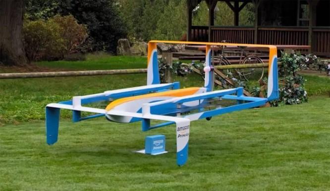 Amazon sử dụng UAV đưa hàng hóa đến người tiêu dùng thế nào? ảnh 2
