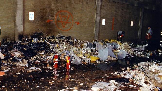 FBI công bố những bức ảnh chưa từng biết đến về vụ tấn công khủng bố Lầu Năm Góc ngày 11.9.2001 ảnh 2