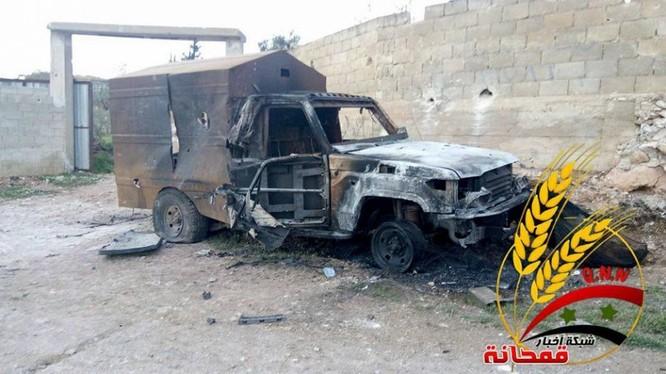 Chiến sự Syria: Quân chính phủ chiếm được vô số vũ khí phiến quân (video) ảnh 4