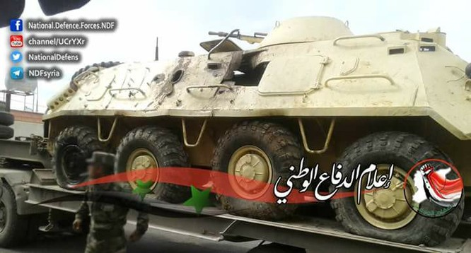 Chiến sự Syria: Quân chính phủ chiếm được vô số vũ khí phiến quân (video) ảnh 5
