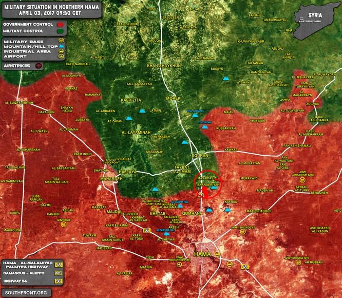 Chiến sự Syria: Quân Assad đè bẹp lính thánh chiến ở Hama ảnh 1