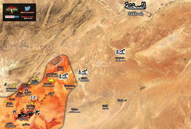 Quân đội Syria đập tan IS, chiếm cao điểm ở sa mạc Palmyra ảnh 1