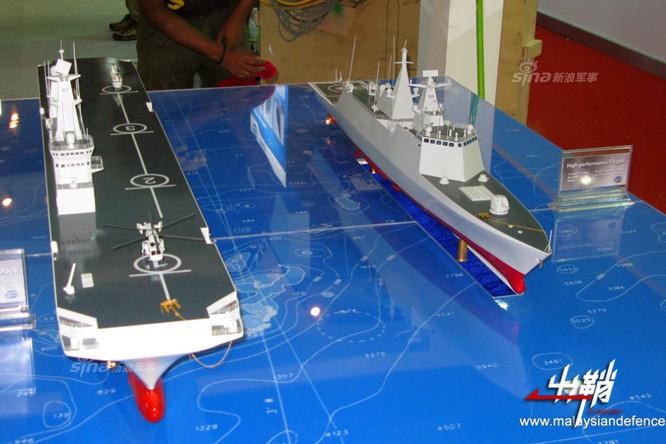 Trung Quốc đóng tàu đổ bộ trực thăng khủng 40.000 tấn (video) ảnh 1