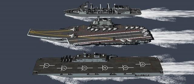 Trung Quốc đóng tàu đổ bộ trực thăng khủng 40.000 tấn (video) ảnh 3