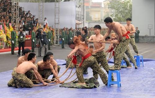 Tuyệt kỹ đặc công Việt Nam xuất quỷ nhập thần (chùm ảnh video) ảnh 24