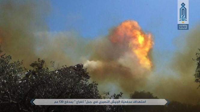 Quân đội Syria bị tấn công dữ dội sau đòn tập kích tên lửa Mỹ (video) ảnh 3
