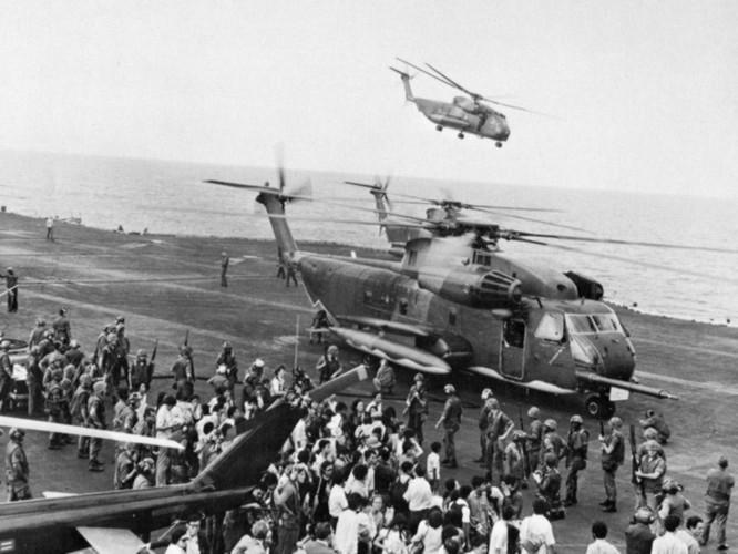 Mỹ và chiến dịch ném trực thăng xuống Biển Đông năm 1975 ảnh 2