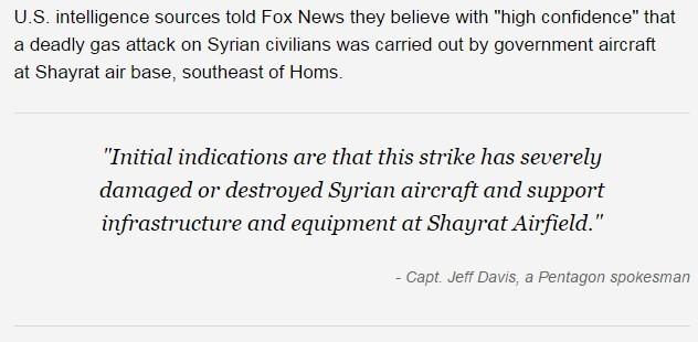 Bộ tư lệnh CENTCOM Mỹ nói gì về đòn tấn công tên lửa đánh Syria? ảnh 2