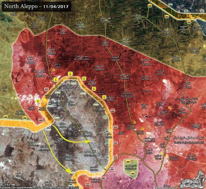 Quân đội Syria ác chiến phiến quân Hồi giáo ở tây Aleppo ảnh 2