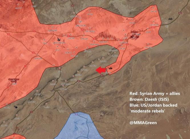 Chiến sự Syria: Quân Assad truy quét IS trên chiến trường Palmyra (video) ảnh 1