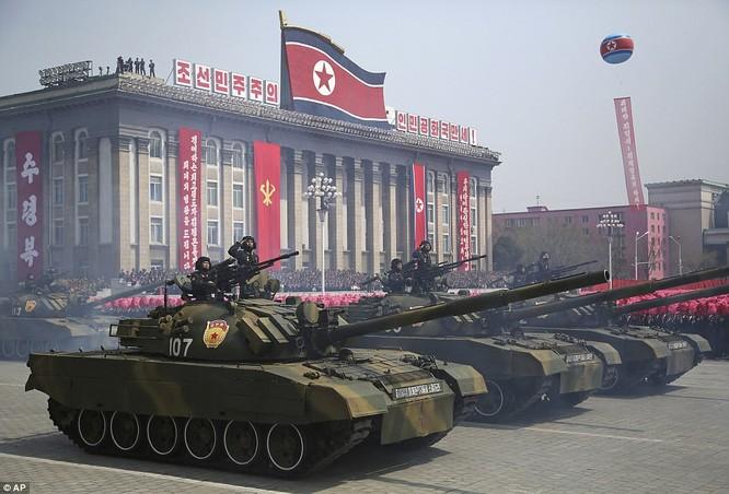 Sức mạnh quân sự Triều Tiên qua màn duyệt binh lớn nhất lịch sử ảnh 20