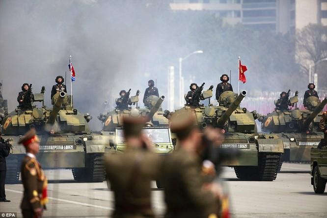 Sức mạnh quân sự Triều Tiên qua màn duyệt binh lớn nhất lịch sử ảnh 31