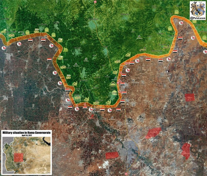 """Hổ Syria"" đập tan phiến quân, chiếm thị trấn then chốt tại Hama ảnh 1"