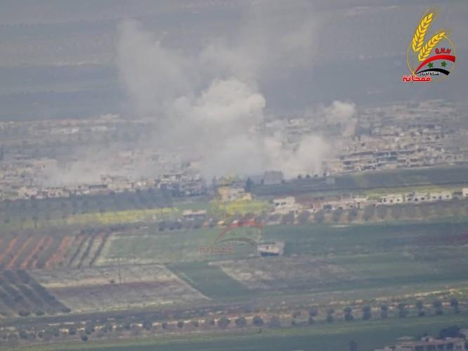 """Hổ Syria"" đập tan phiến quân, chiếm thị trấn then chốt tại Hama ảnh 2"