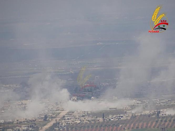 """Hổ Syria"" đập tan phiến quân, chiếm thị trấn then chốt tại Hama ảnh 4"