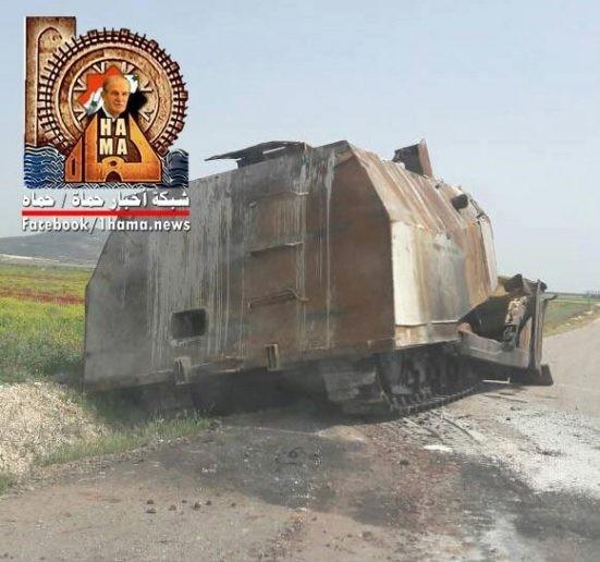 Quân đội Syria hủy diệt hàng chục xe phiến quân, hơn 50 tay súng thánh chiến chết trận (video) ảnh 4