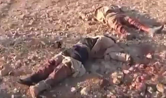 Quân đội Syria hủy diệt hàng chục xe phiến quân, hơn 50 tay súng thánh chiến chết trận (video) ảnh 10