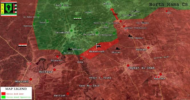 Quân đội Syria đập tan phiến quân thánh chiến, chiếm cứ điểm địch tại Hama ảnh 1
