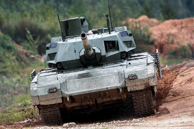 Lộ nội thất siêu tăng Armata Nga ảnh 1