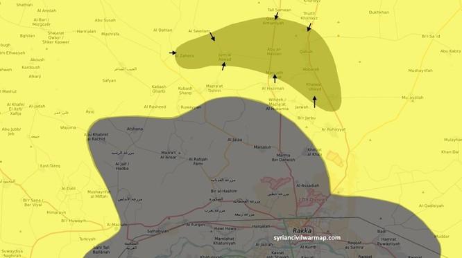 IS bại trận, mất hàng chục làng vào tay SDF Syria ảnh 1