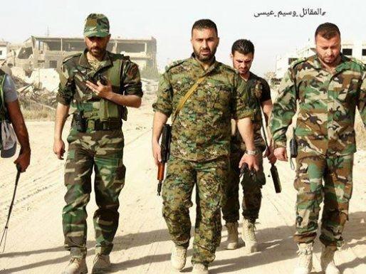 Quân đội Syria giao chiến ác liệt với phiến quân cố thủ ngoại vi Damascus (video) ảnh 8