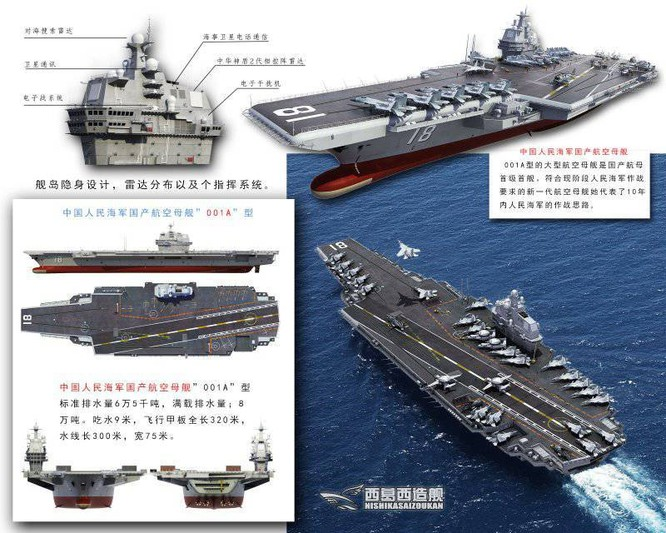 Trung Quốc tăng tốc cuộc đua tàu sân bay với Mỹ ảnh 2