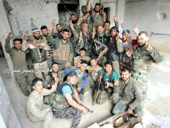 Chiến sự Syria: Lính chính phủ san phẳng chỉ huy sở phiến quân ở Daraa ảnh 1