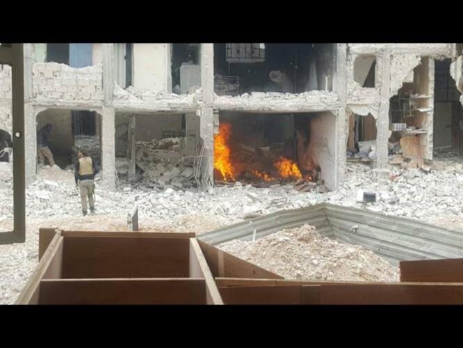 Chiến sự Syria: Lính chính phủ san phẳng chỉ huy sở phiến quân ở Daraa ảnh 4