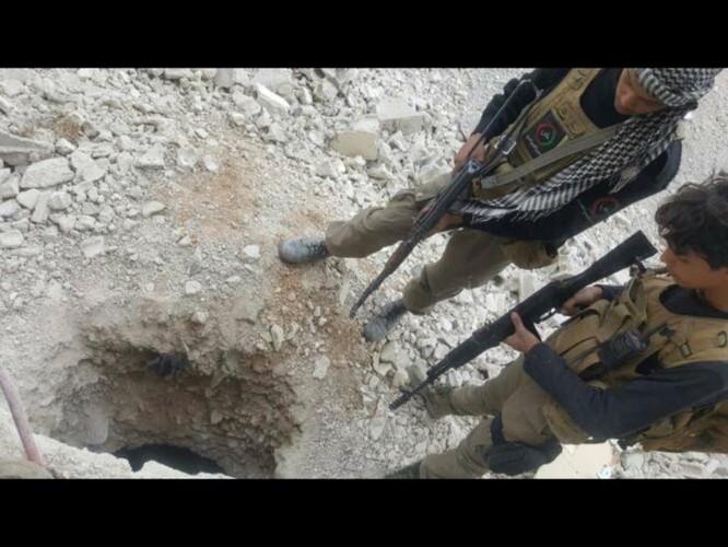 Chiến sự Syria: Lính chính phủ san phẳng chỉ huy sở phiến quân ở Daraa ảnh 7
