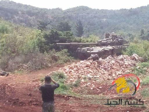 Chiến sự Syria: Xe tăng nã pháo vùi dập phiến quân ở Latakia ảnh 1