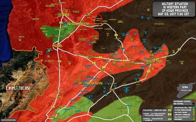 Quân đội Syria bẻ gãy IS phản kích trên chiến trường Hama ảnh 1