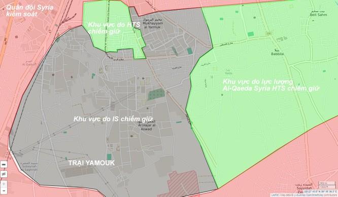 Tránh bị tiêu diệt, nhóm phiến quân Syria cố thủ Damascus sắp đầu hàng ảnh 1