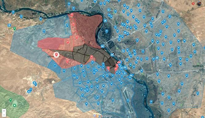 Hàng loạt tay súng IS đền mạng trong trận đánh tại Mosul ảnh 1
