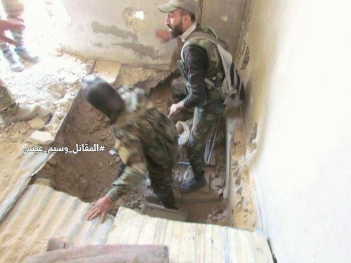 Chiến sự Syria: Quân Assad đánh sập hầm chôn phiến quân, khủng bố sắp đầu hàng ở Damascus ảnh 1