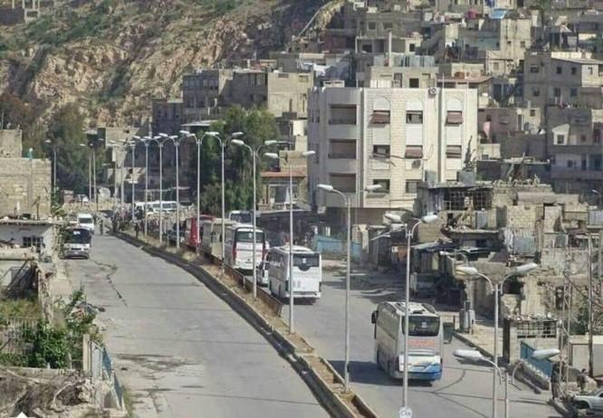 8.000 phiến quân Syria đầu hàng, giao nộp hai quận ngoại ô Damascus ảnh 5