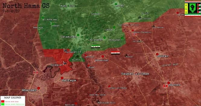 Quân đội Syria loại khỏi vòng chiến gần 100 phiến quân Hồi giáo tại Hama ảnh 1