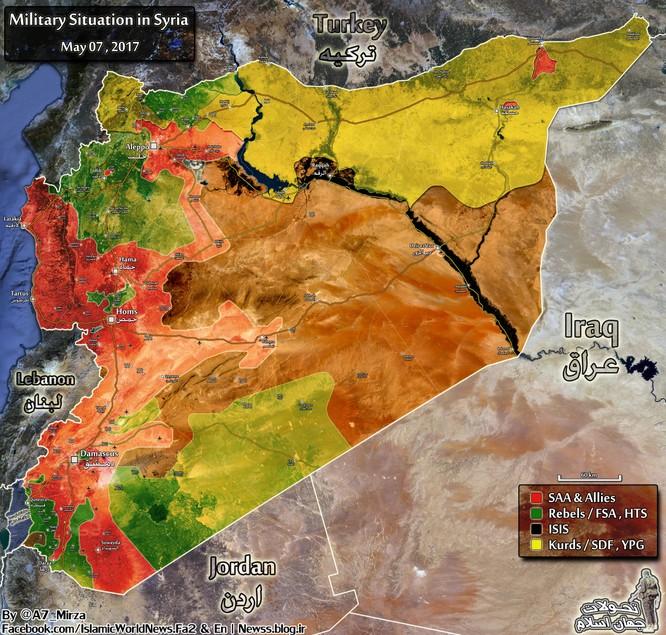 Quân đội Nga, Syria hạ quyết tâm tiêu diệt IS trong tháng 5 ảnh 1