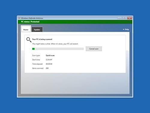 Diệt virus dễ dàng hơn với Windows Defender Offline ảnh 4