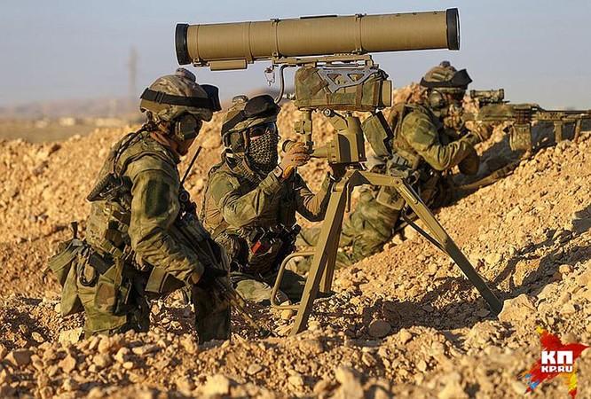 Đặc nhiệm Nga xung trận đánh bại 300 tay súng khủng bố Syria ảnh 2