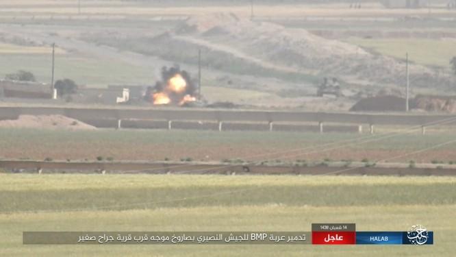 Trước nguy cơ thảm bại, IS điên cuồng chống trả ở Aleppo ảnh 4