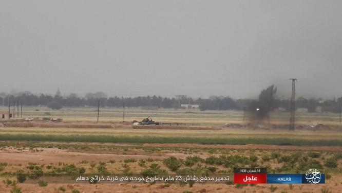 Trước nguy cơ thảm bại, IS điên cuồng chống trả ở Aleppo ảnh 5