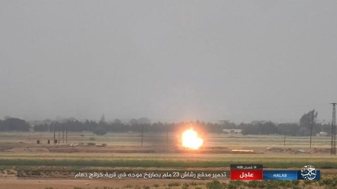 Trước nguy cơ thảm bại, IS điên cuồng chống trả ở Aleppo ảnh 6