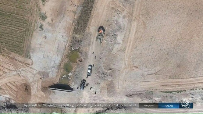 Trước nguy cơ thảm bại, IS điên cuồng chống trả ở Aleppo ảnh 8