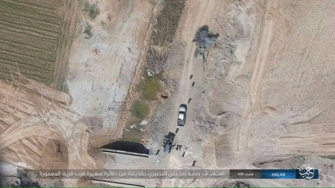 Trước nguy cơ thảm bại, IS điên cuồng chống trả ở Aleppo ảnh 9