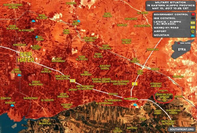 Quân đội Syria giao chiến ác liệt với IS trên vùng nông thôn Aleppo ảnh 1