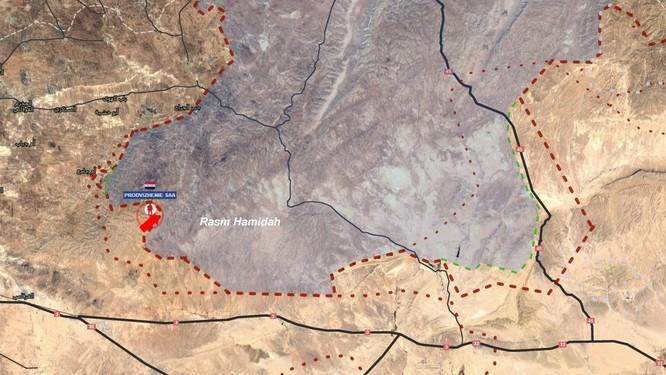 Quân đội Syria giải phóng thêm nhiều cao điểm phía đông tỉnh Homs (video) ảnh 1