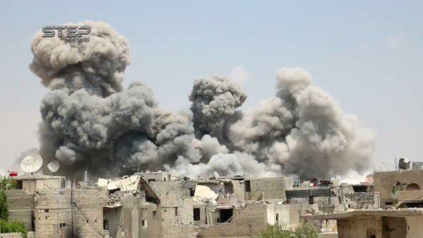 Quân đội Syria tiến công chia cắt quận Al-Qaboun ảnh 6